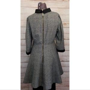 Ted Baker London Dresses - Ted Baker London Herringbone Wool Blend Dress
